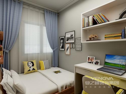 本案是个小户型,太繁琐的装饰反而显得空间很拥挤,淡淡灰色为主色调既没有白色那么单调,还多了分温馨感。通过家具和软装的的颜色搭配选择,让家变得更加具有层次感。