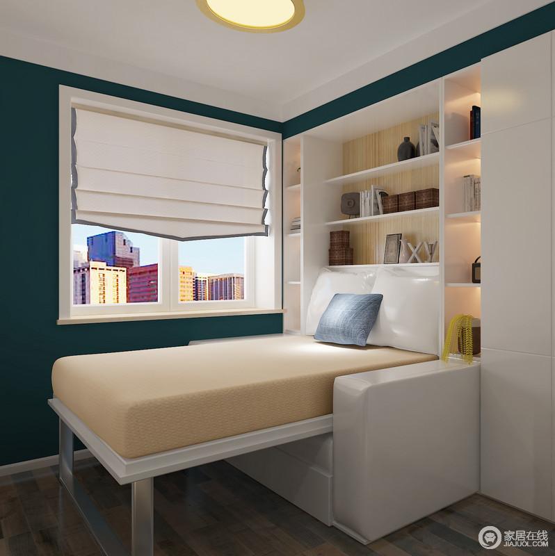 当沙发展开时便可以成为客人们舒适的休息区,会让他们惊喜万分