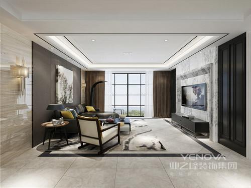 别墅设计让每个空间的功能都明确,以大空间感塑造现代生活的质感;在设计中,设计师以原有的结构为主,通过墙面和地面处理,让线条之美支撑起空间的简素,让居室的空间布局与使用功能完美结合;材质上,以木材和石材为主,并将两者完美融合,让空间多了现代精致的同时,也多了天然之韵;虽然色调上较为灰静,但是却不显沉闷,反而因为简练地设计和时尚精致的家具,让生活极富品质,让你在家可以感受到安谧和宁静。