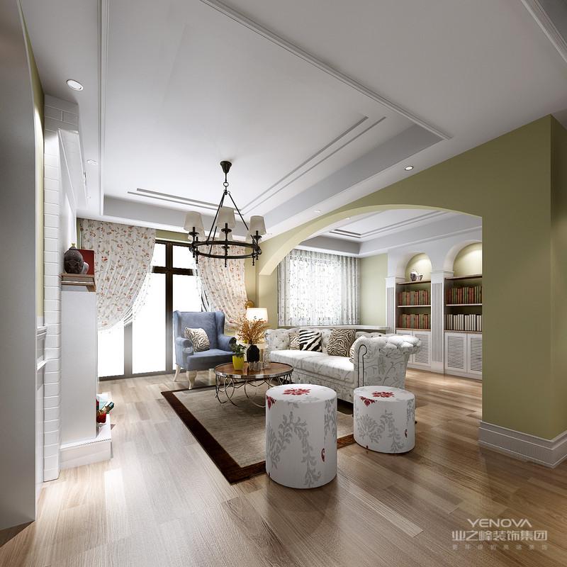 简美风格的特色是将设计的元素、色彩、照明、原材料,简化到最少的程度。家居环境中的空间布局、色彩运用、材质的选择,都突出了简约又大气的风格。