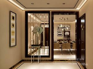 现代风格门厅装修效果图