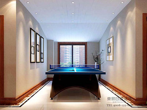 新中式风格休闲室装修效果图