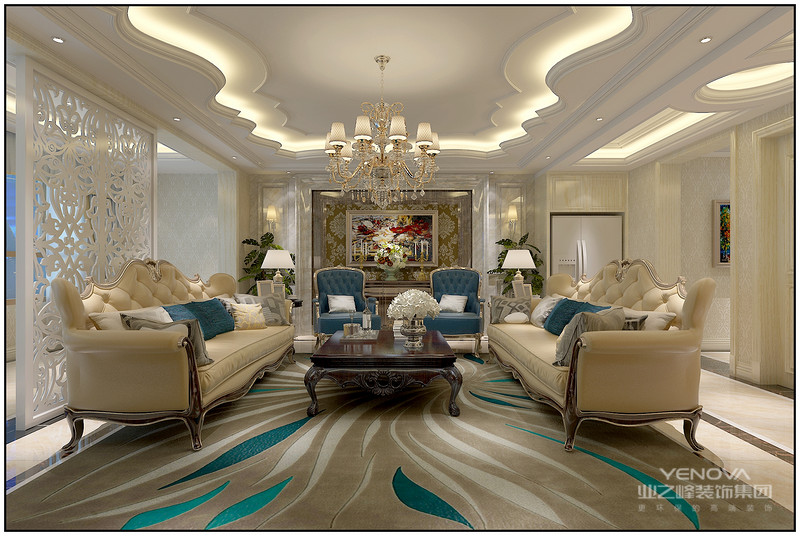 欧式风格沿袭古典欧式风格的主元素,融入了现代的生活元素。欧式的居室有的不只是豪华大气,更多的是惬意和浪漫。通过完美的典线,精益求精的细节处理,带给家人数不尽的舒服触感。