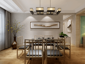现代风格茶室装修效果图
