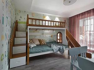 美式风格儿童房装修效果图