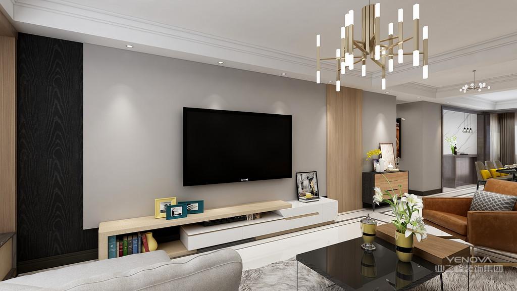 现代风格外形简洁、功能强,强调室内空间形态和物件的单一性、抽象性。现代简约风格,顾名思义,就是让所有的细节看上去都是非常简洁的。装修中极简便是让空间看上去非常简洁,大气。装饰的部位要少,但是在颜色和布局上,在装修材料的选择配搭上需要费很大的劲,这是一种境界,不是普通设计师能够设计出来的。无疑,现代简约风格的装修风格迎合了年轻人的喜爱,都市忙碌生活,早已经让我们烦腻了花天酒地,灯红酒绿,我们更喜欢的一个安静,祥和,看上去明朗宽敞舒适的家,来消除工作的疲惫,忘却都市的喧闹。