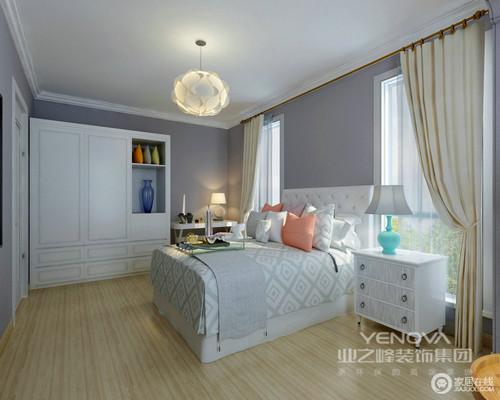 大2居室效果,新中式设计风格,表现出主人对中式美的体现,又有书生古典的韵味