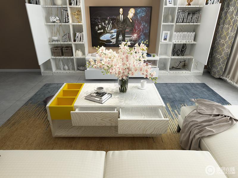 多变的色彩和时尚地造型更是满足您对家具高颜值的要求,让空间既具有收纳作用,又不失现代品质。