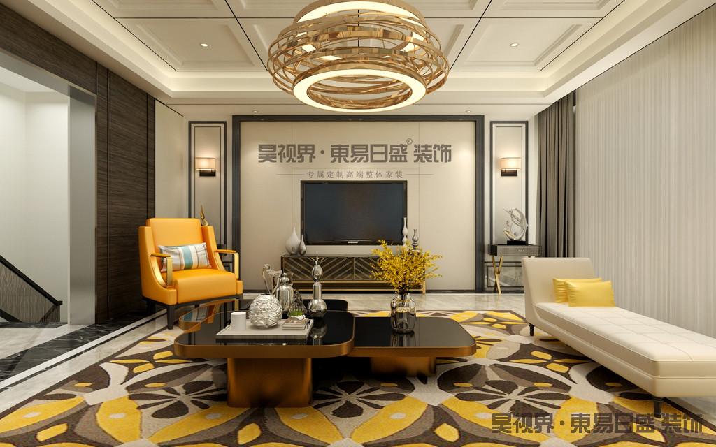 现代轻奢家具将现代与古典的相融合 硬装中强调现代设计。