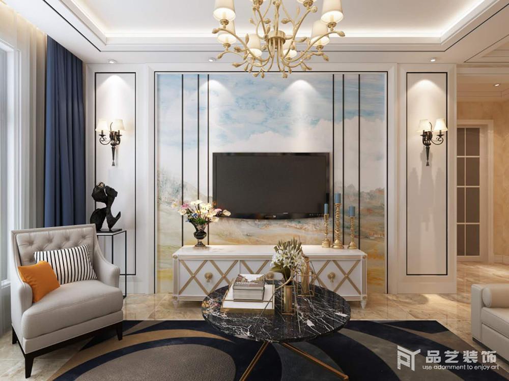 华晟·悦府-电视背景墙