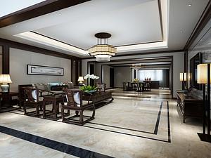 大运河孔雀城里看中式儒雅 350平米别墅享生活品质350平米四居室