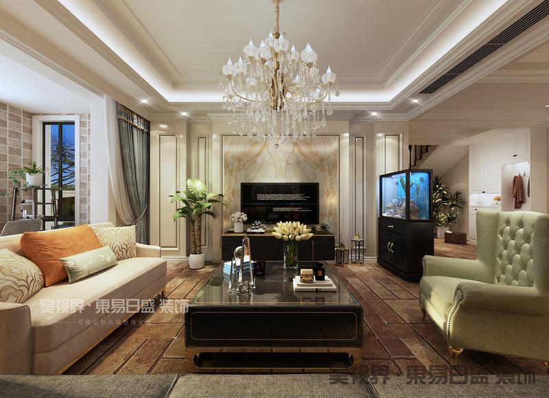 欧式造型,线条的设计也很有讲究,使整体空间具有更强烈的西方传统审美气息
