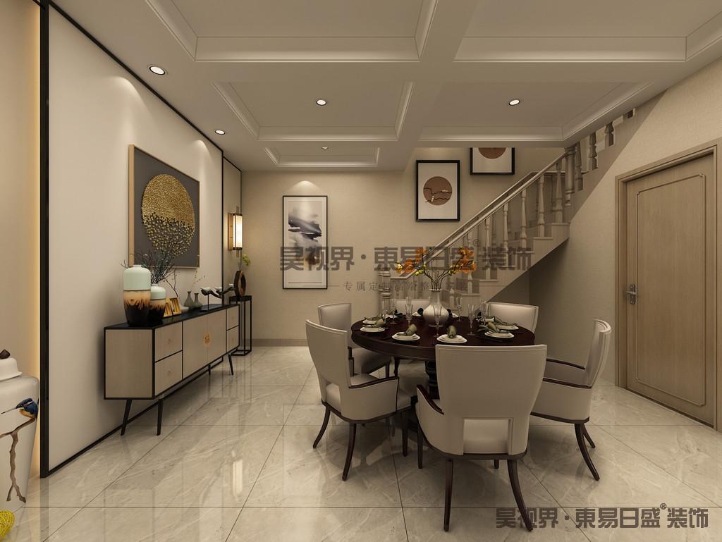 新中式风格以符合现代人的生活习惯的室内居住空间现实舒适的居住生活。