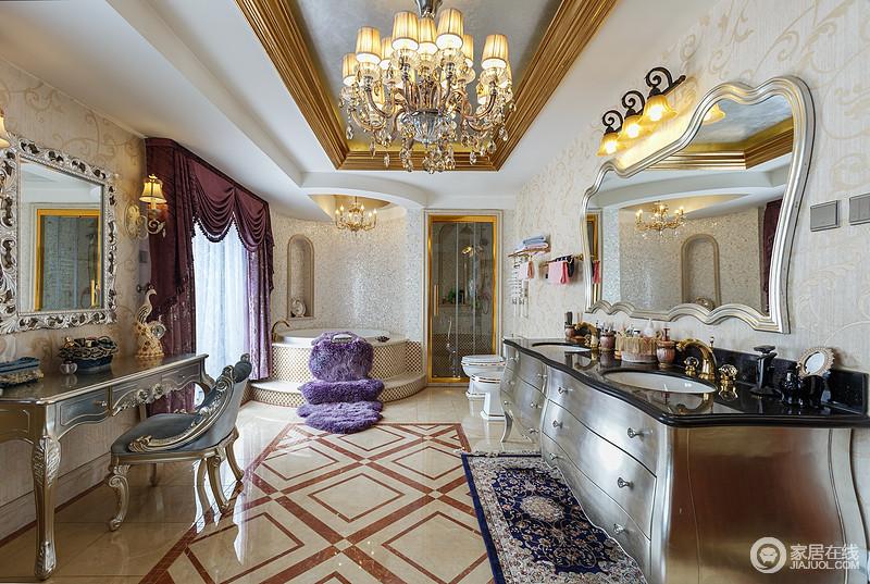 壁炉作为居室中心,是这种风格最明显的特征,因此常被广州室内装修广泛应用。在色彩上,经常以白色系或黄色系为基础,搭配墨绿色、深棕色、金色等,表现出古典欧式风格的华贵气质。