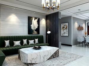 现代风格客厅装修效果图