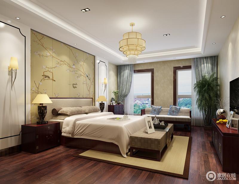 为了更符合居住的要求,选择恰当的中式家具点缀中式元素才能让居室散发古雅而清新的魅力。