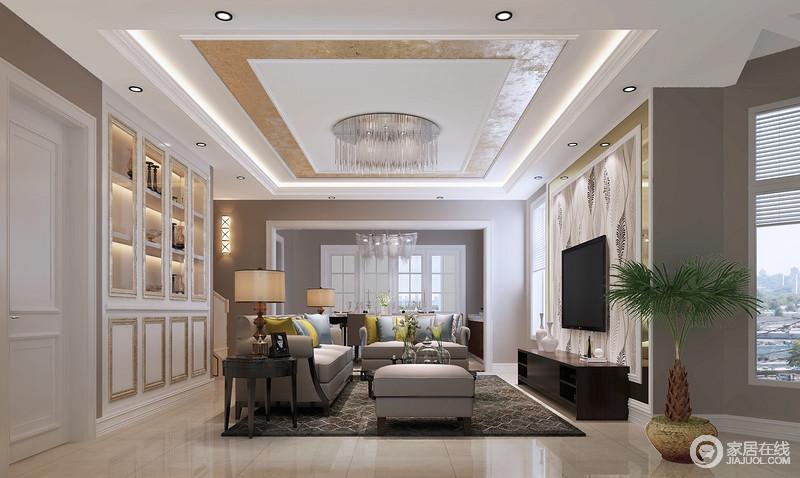 追求时尚与潮流,非常注重居室空间的布局与使用功能的完美结合。