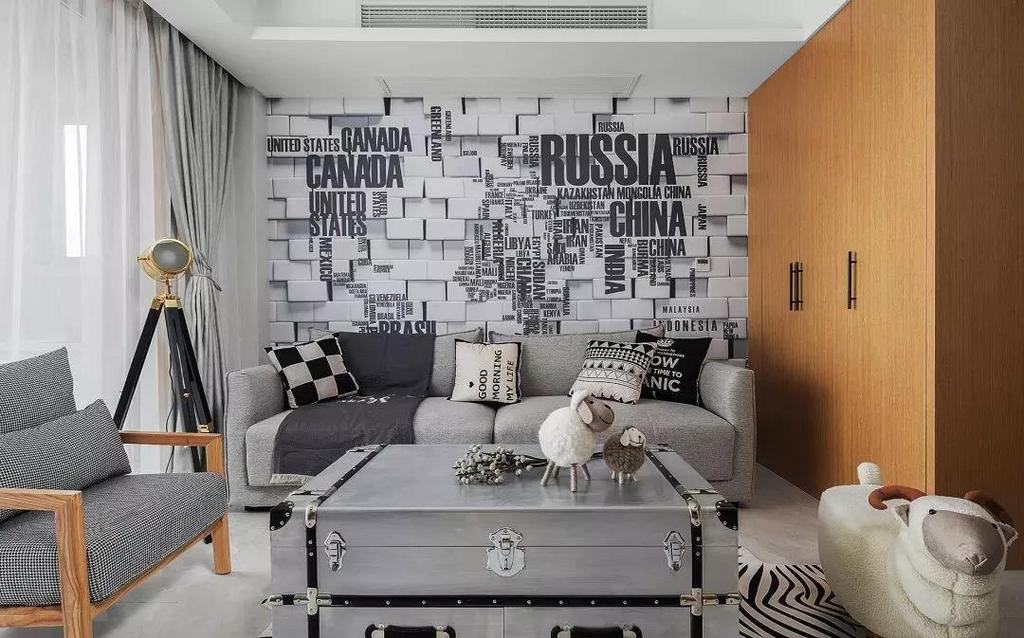 返璞归真,回味旧时光 一面墙/一幅画,个性引领时尚 用一幅个性定制的画面 来带动整个空间的氛围 营造出一种轻松自在的视觉享受