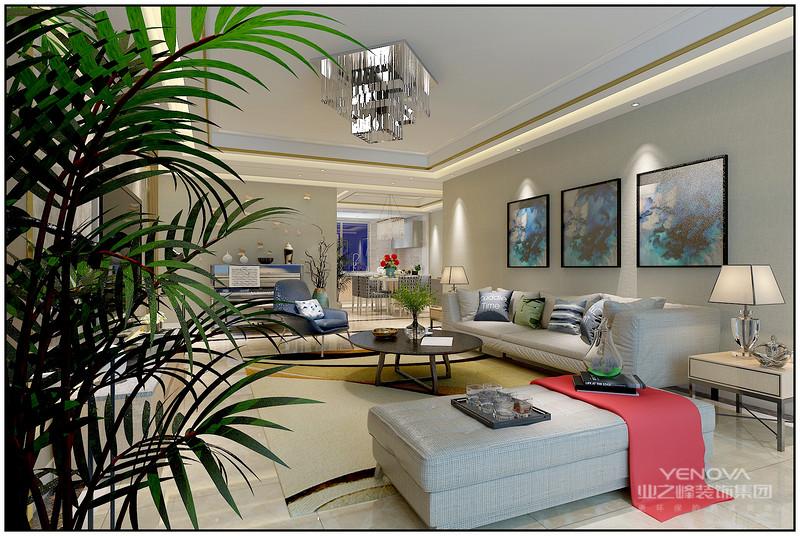 """现代风格大多崇尚简约、时尚,不论是色彩搭配还是空间布局,都相对比较简单,更注重体现建筑内部结构的形式美。因为不尚装饰,造型简洁,所以这种风格也被称为是""""经济适用型""""的装修设计,从视觉上仿佛很难营造出一个高档、奢华的家居空间。而事实上,只要通过合理的布局以及搭配,现代风格设计同样也能在时尚利落中展现出轻奢质感。"""