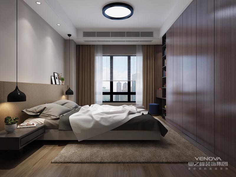 与传统的装修风格相比,现代简约风格设计是提出了原有的繁琐、复杂的设计元素,采用留白的设计来营造出空间中的个性与宁静