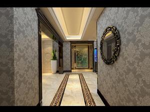 新古典风格走廊装修效果图