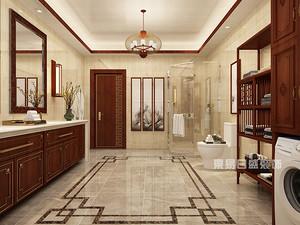 新中式风格卫生间装修效果图