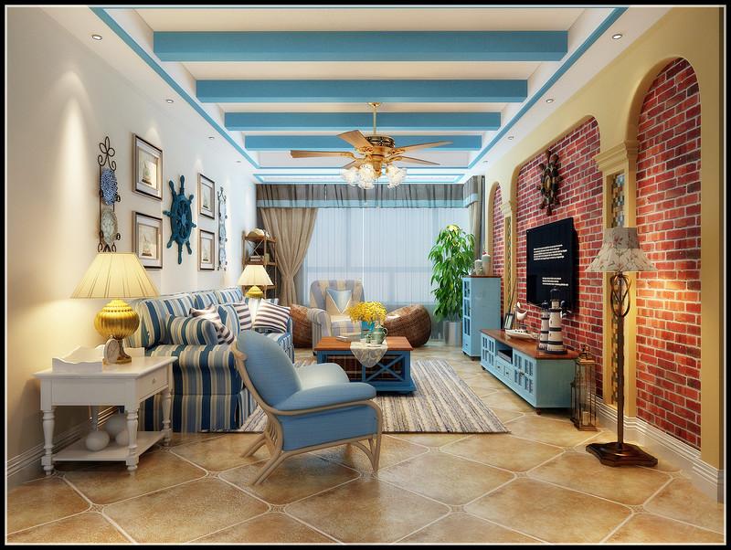在自然和灯光的互相作用下,客厅的整个空间尽显柔美与舒适,颜色的变化让空间层次感更强烈。