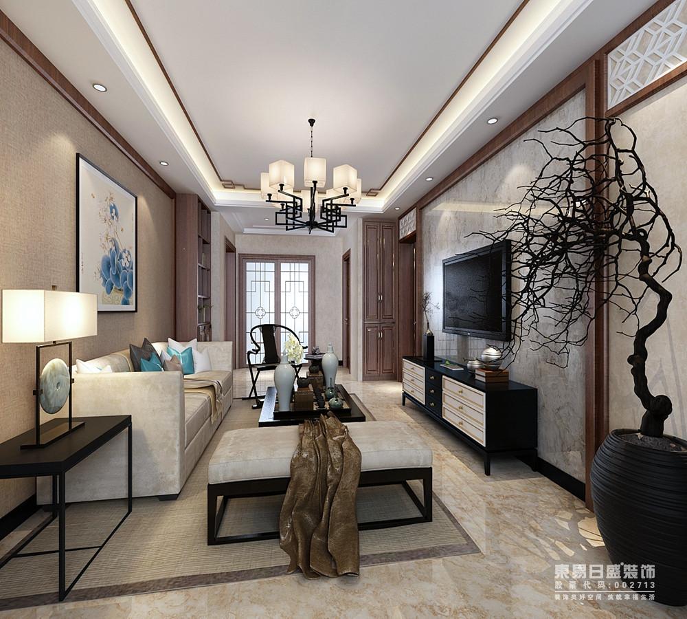 硬朗的家具陈设,留白的整体空间,不失中式的沉着,又能体现现代明快的氛围
