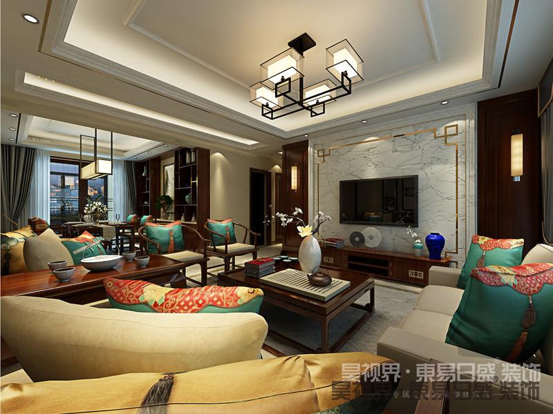 客厅是一个空间最为凸显整体效果之处。
