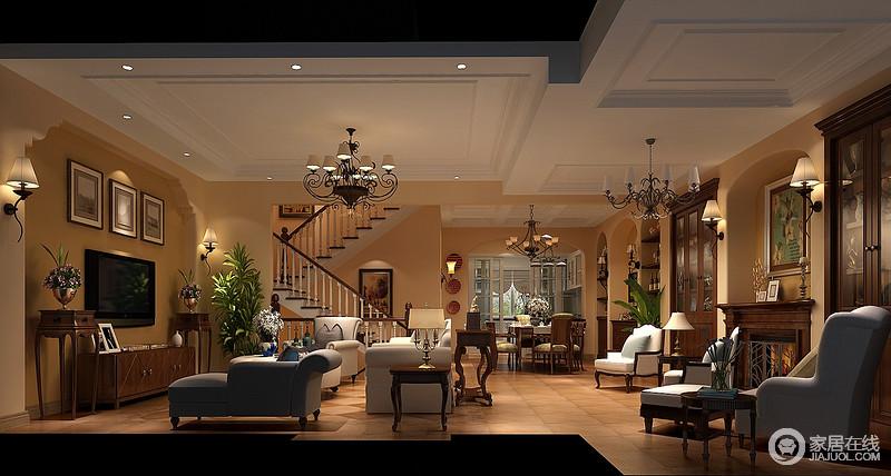 托斯卡纳风格是乡村的,简朴,优雅,它是设计与大自然有机结合的风格