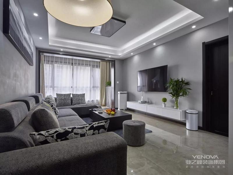 今天分享的是一套建筑面积138平米的现代简约风三居室案例,设计师以整体简洁大方的硬装,黑白灰三色的混拼,来打造这样一个高档、精致的三居室房子,而主卧、次卧都选择榻榻米的设计,更是让空间更加整洁利落。