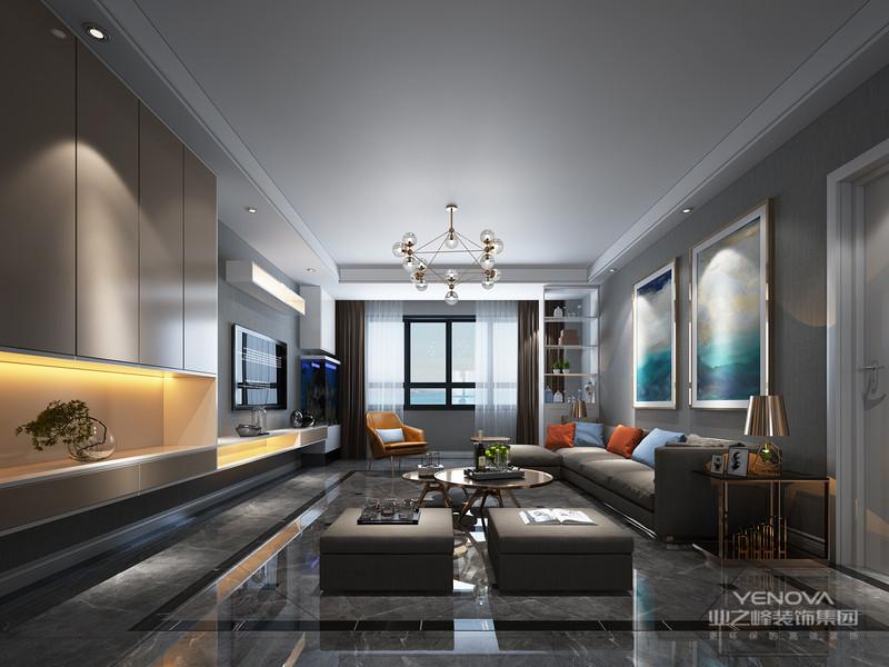 现代简约风格是以简约为主的装修风格。简约并不是缺乏设计要素,它是一种更高层次的创作境界。在室内设计方面,不是要放弃原有建筑空间的规矩和朴实,去对建筑载体进行任意装饰。
