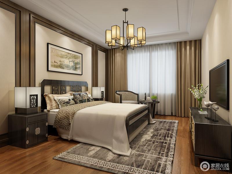 """使用""""新中式""""装饰风格,不仅需要对传统文化谙熟于心,而且要对室内设计有所了解,还要能让二者的结合相得益彰。"""