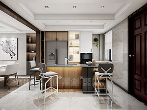 現代風格廚房裝修效果圖