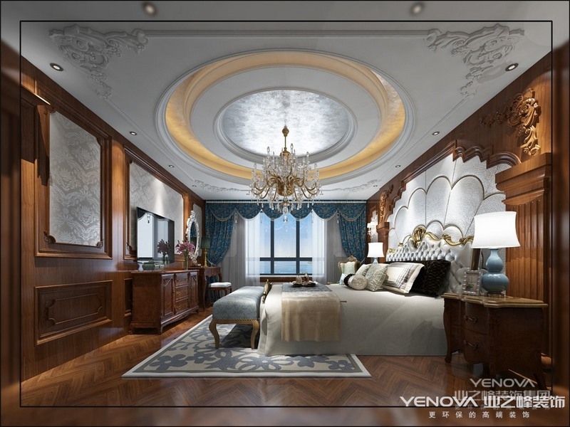 古典欧式风格是一种追求华丽和高雅的风格,古典欧式风格是有内涵的一种设计。