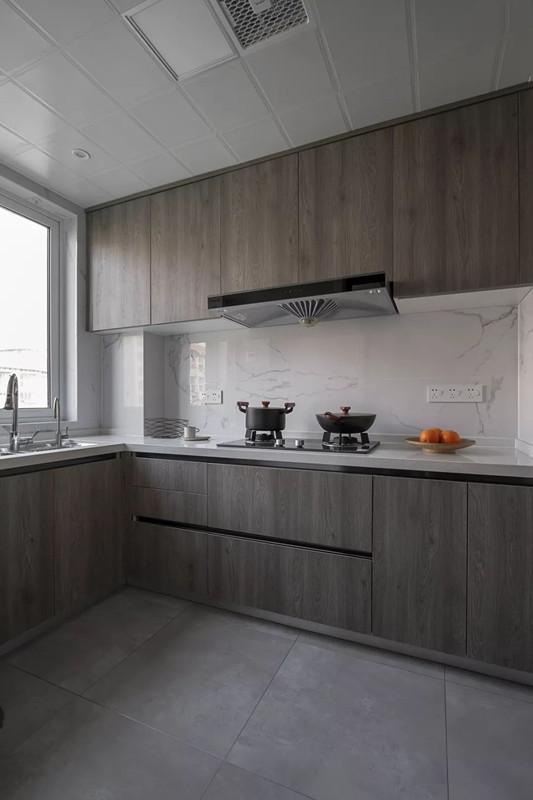 厨房颜色偏深耐脏适用