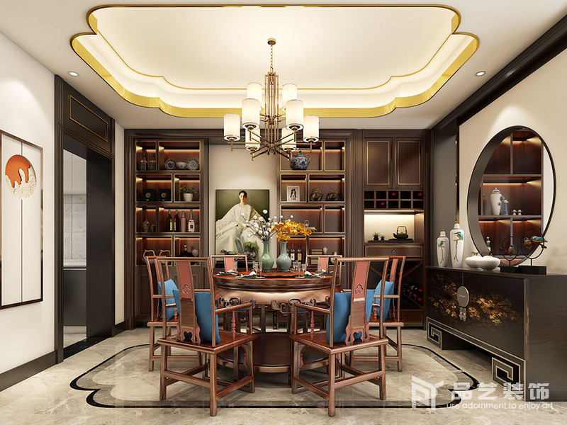 新韵·华居复式-餐厅