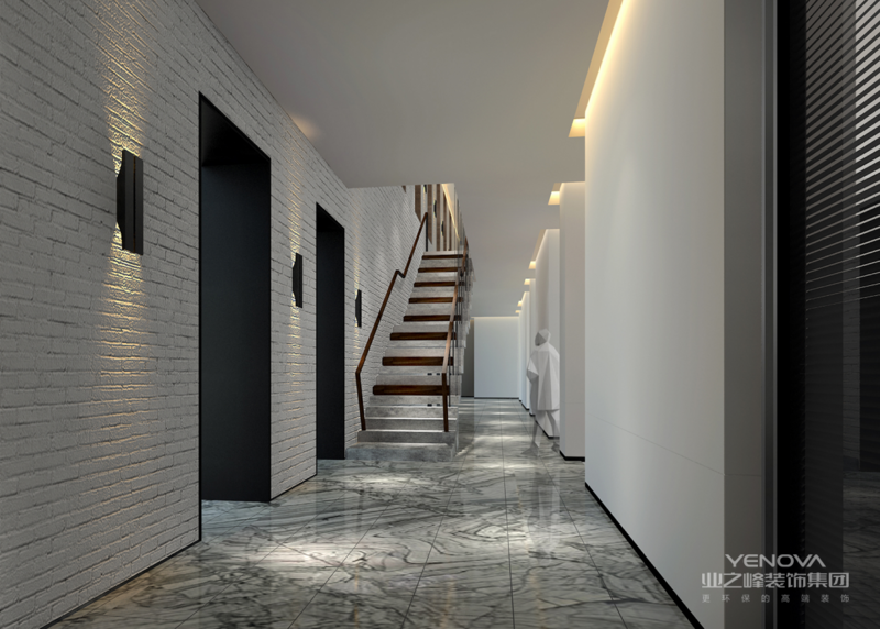 在设计上,墙面大面积的使用了古典欧式色彩的壁纸配合经过提炼的欧式线条,使欧式不再是遥远的过去,而是鲜活时尚的品味象征。减掉了复杂的欧式护墙板使用了提炼过的石膏线勾勒出线框,把护墙板的形式简化到极致。