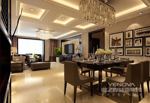 140平米的空间,根据功能进行设计,设计师以混搭风格糅合东西方美学精华元素,将古今文化内涵完美地结合于一体,充分利用空间形式与材料,创造出个性化的家居环境;米色和驼色的搭配,在材质、灯光和陈列的搭配下,让整个空间颇显多趣与温馨。
