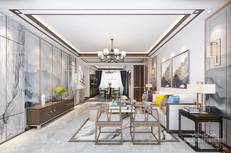 在家装的风格之中,现代风格是比较流行的一种风格,深受大众欢迎。其特点是追求时尚与潮流,非常注重居室空间的布局与使用功能的完美结合。现代风格喜欢使用最新的材料,尤其是不锈钢、铝塑板或合金材料,作为室内装饰及家具设计的主要材料;其次是对于结构或机械组织的暴露,如把室内水管、风管暴露在外,或使用透明的、裸露机械零件的家用电器;在功能上强调现代居室的视听功能或自动化设施,家用电器为主要陈设,构件节点精致、细巧,室内艺术品均为抽象艺术风格。