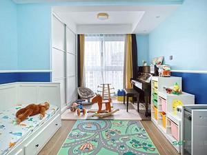 北欧风格儿童房装修效果图