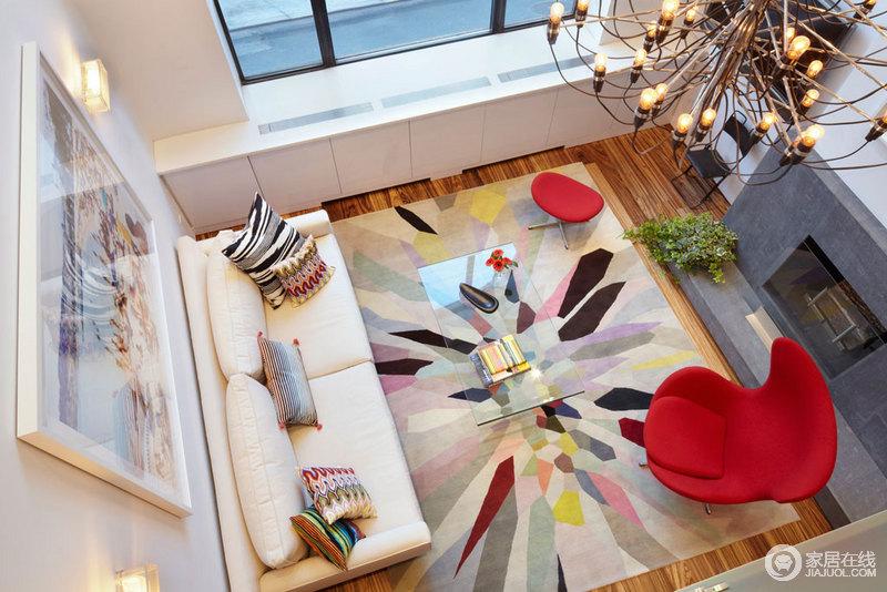 整个家里彩色活力产生一个强大的正能量,使整个空间充满活力的地方。