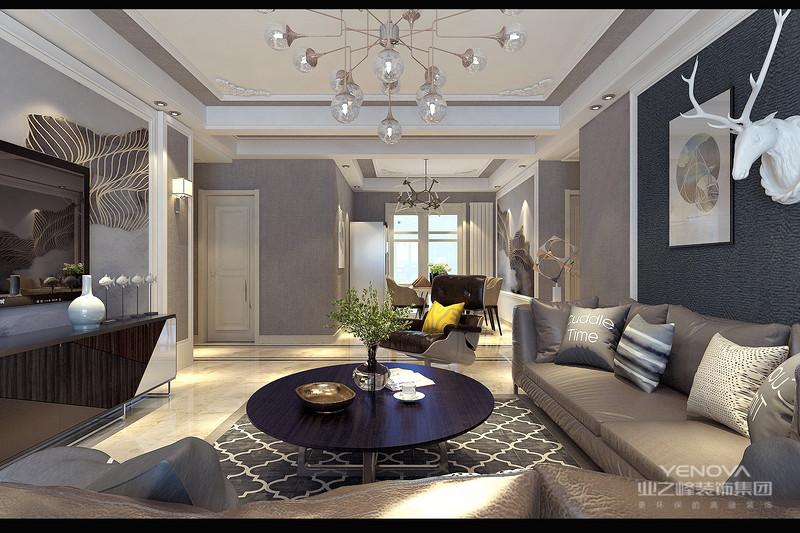 简欧风格的室内设计打破以往的欧式深沉的色彩,以浅色为主。早本方案中大量的使用了以浅色为主以暖色为辅。来凸显出简约,质朴,温馨,浪漫。也跟符合中国人的审美观念