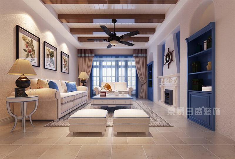 地中海風格在造型方面,一般選擇流暢的線條,圓弧形就是很好的選擇,他可以放在我們家居的空間的每一個角落,一個圓弧形的拱門,一個流線型的門窗,都是地中海家裝中的重要元素。