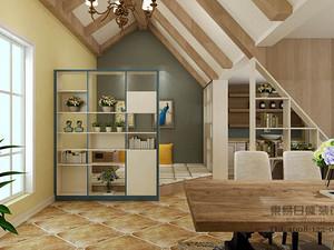 美式风格休闲室装修效果图