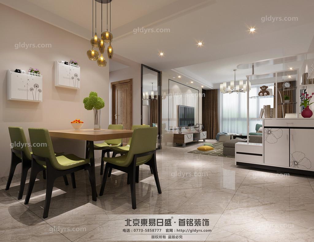 现代风格家居的空间,色彩就要跳跃出来。高纯色彩的大量运用,大胆而灵活,不单是对现代风格家居的遵循,也是个性的展示。